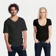 T-Shirts mit V-Ausschnitt für Damen und Herren