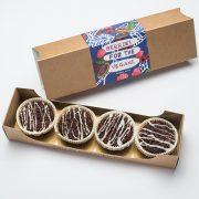 Vegane Muffins verpackt
