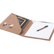 Schreibmappe Recycling offen