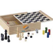 Klassische Brettspiele in Holzschachtel 1