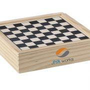 Klassische Brettspiele in Holzschachtel 3