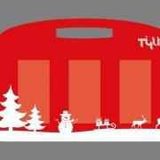 Tee-Tasche Weihnachten 3