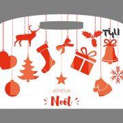 Tee-Tasche Weihnachten 2
