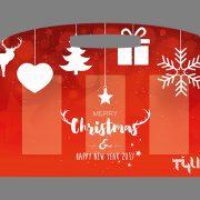Tee-Tasche Weihnachten