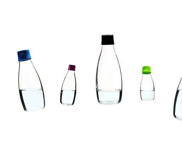 Designer-Glasflaschen