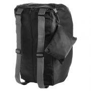 Faltbarer Sporttaschen Rucksack Ribo schwarz