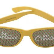 Kinder Sonnenbrille Piko Werbedruck gelb