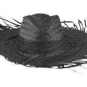 Strohhut Fernandez Sombrero schwarz