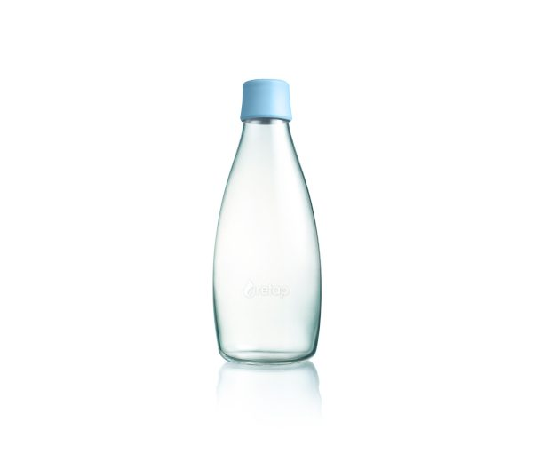 Retap bottle 0,8 Liter babyblau