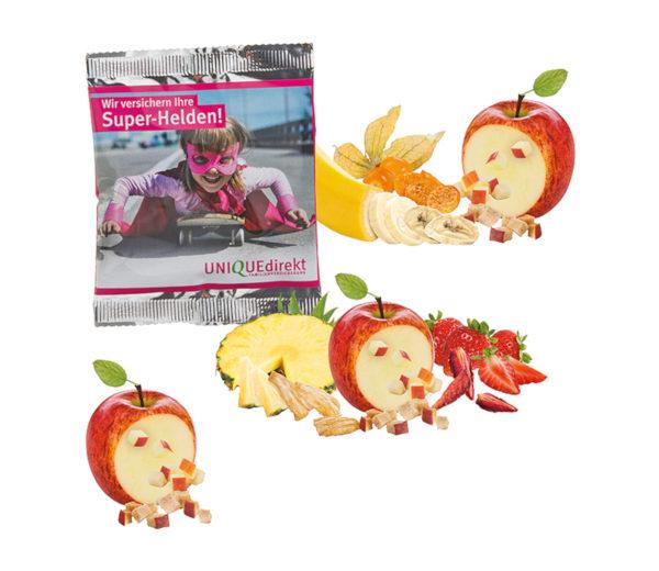 Päx Knusper-Frucht-Mix oder Apfelwürfel vegan