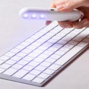 UV-C Lampe zur Sterelisierung Give-Away